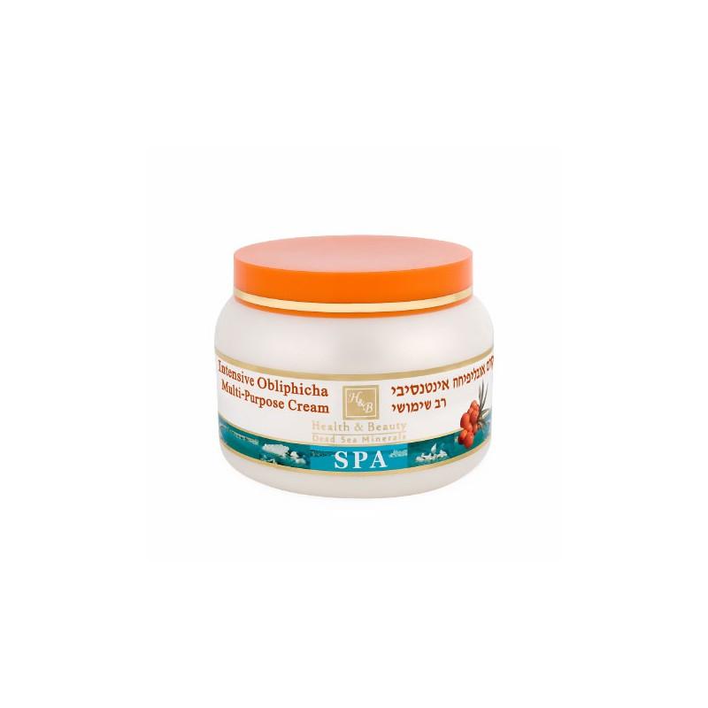 Crème anti-âge à l'huile d'argousier obliphica - 250 ml