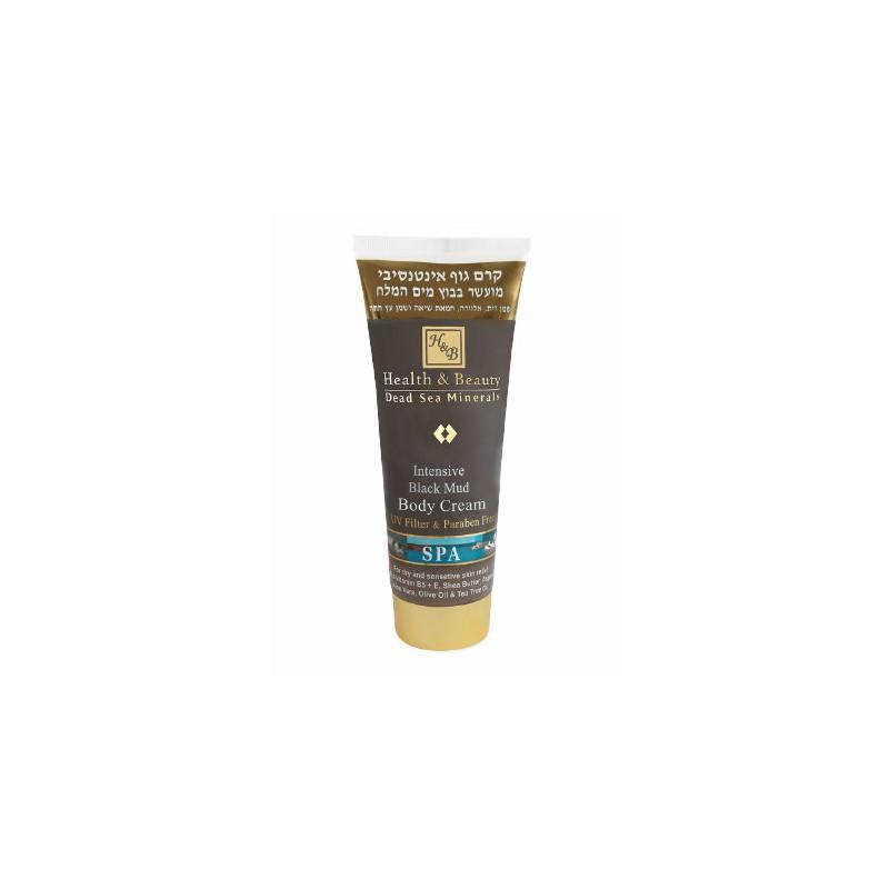 Crème à la boue noire intensive pour le corps - 200 ml