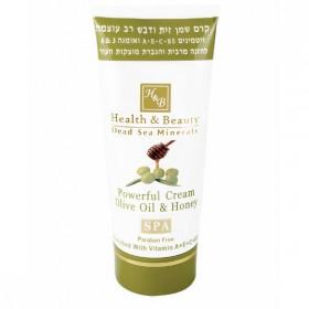 Crème puissante à l'huile d'olive et au miel - 180 ml
