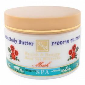 Beurre corporel aromatisé au musc - 350 ml