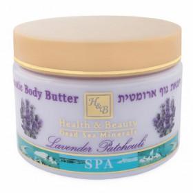 Beurre corporel aromatisé à la lavande - 350 ml
