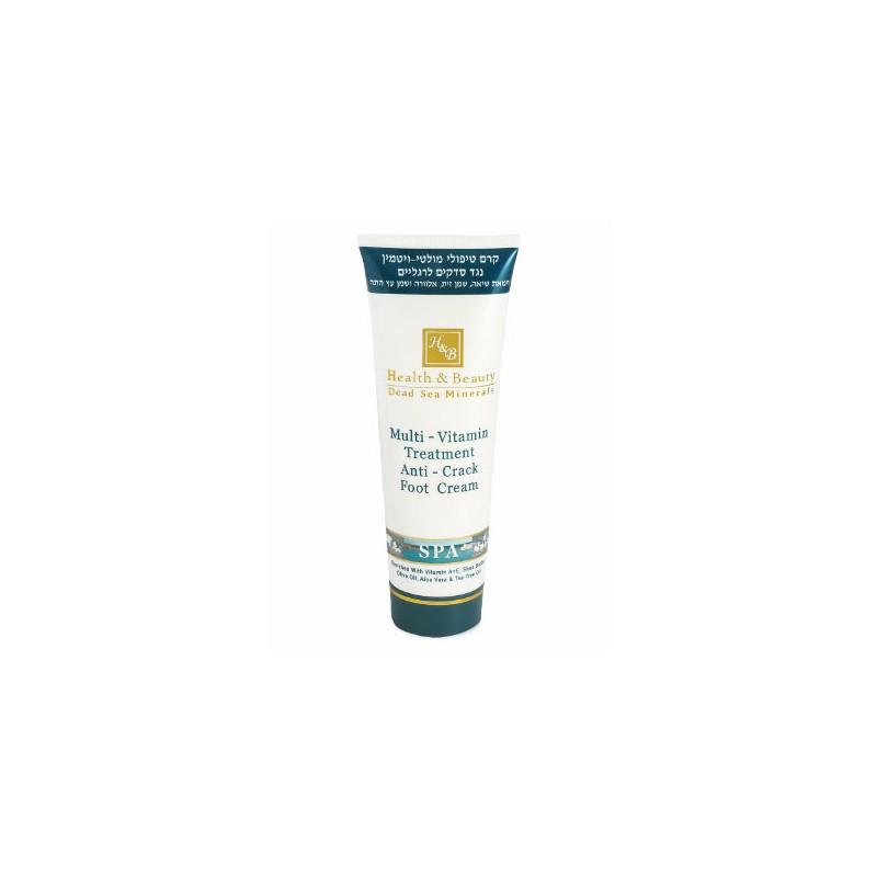 Crème multivitaminée rafraîchissante pour les pieds - 250 ml