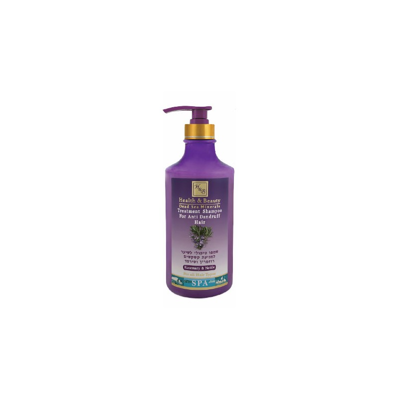 Shampoing anti-pelliculaire Ortie et Romarin- 780 ml