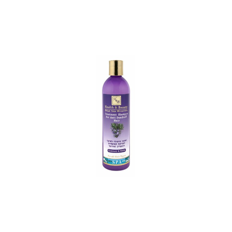 Shampoing anti-pelliculaire Ortie et Romarin- 400 ml