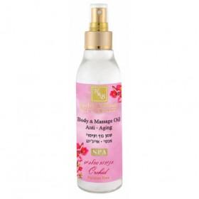 Huile de massage parfumée à l'orchidée - 150 ml