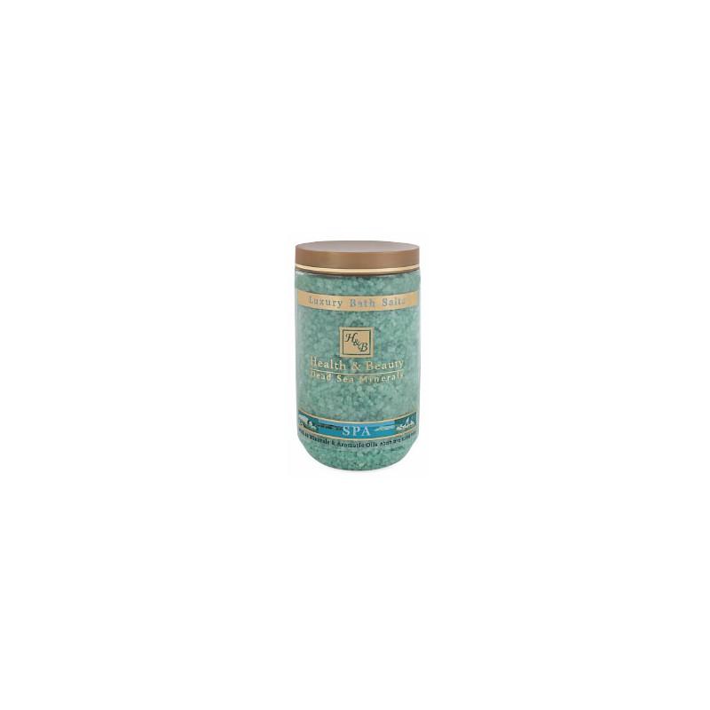 Sels de bain aromatisés (vert) - 1,2 kg