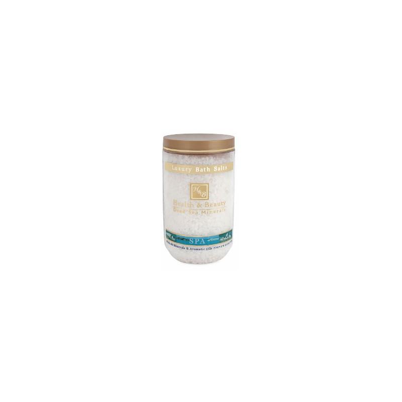 Sels de bain aromatisés (blanc) - 1,2 kg