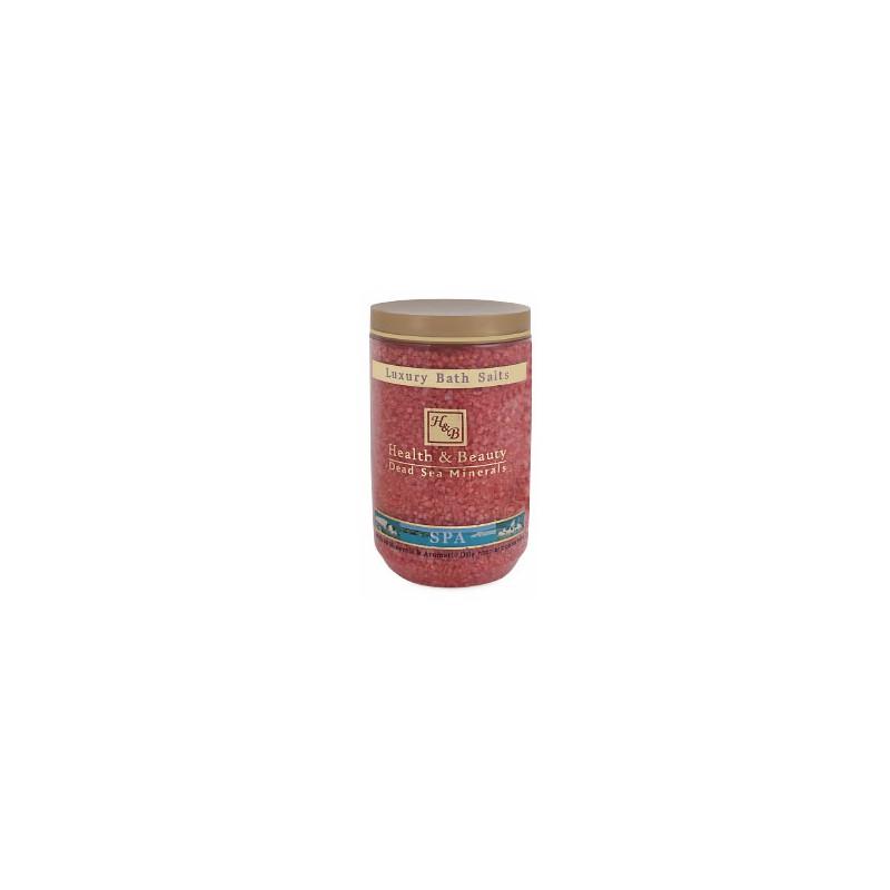 Sels de bain aromatisés (rouge) - 1,2 kg