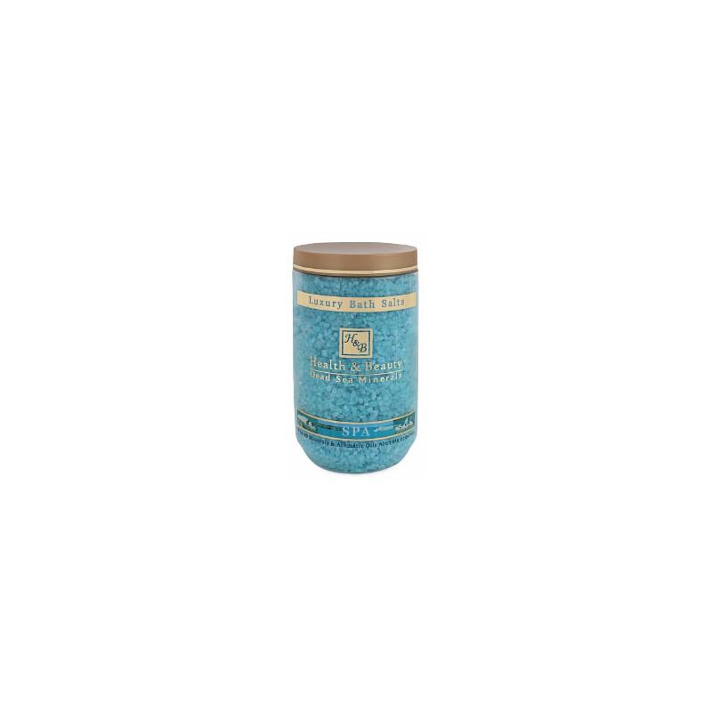 Sels de bain aromatisés (bleu) - 1,2 kg