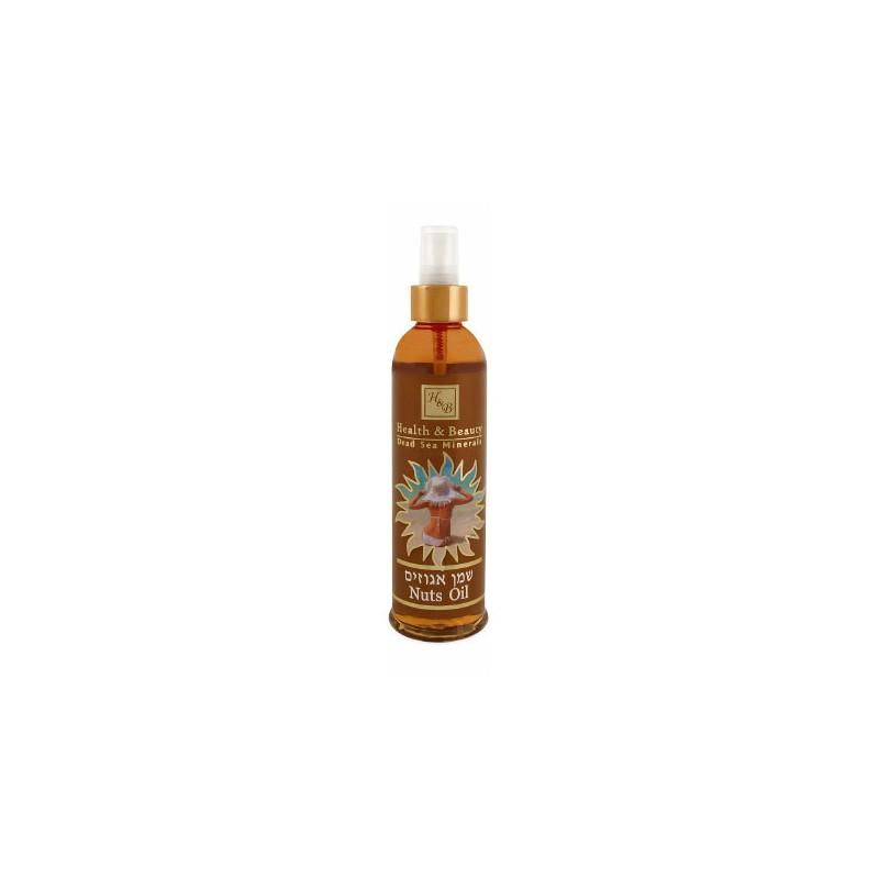 Huile de bronzage à l'huile de noisettes - 250 ml