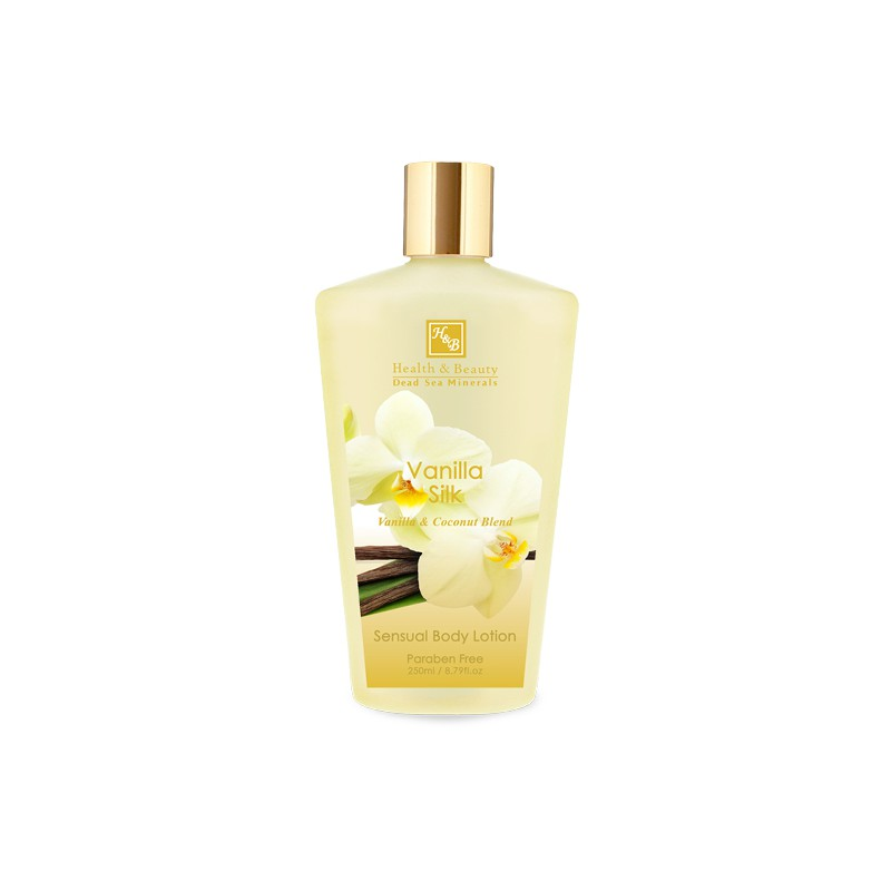 Sensuel Body Lotion - Vanilla Silk - 250 ml