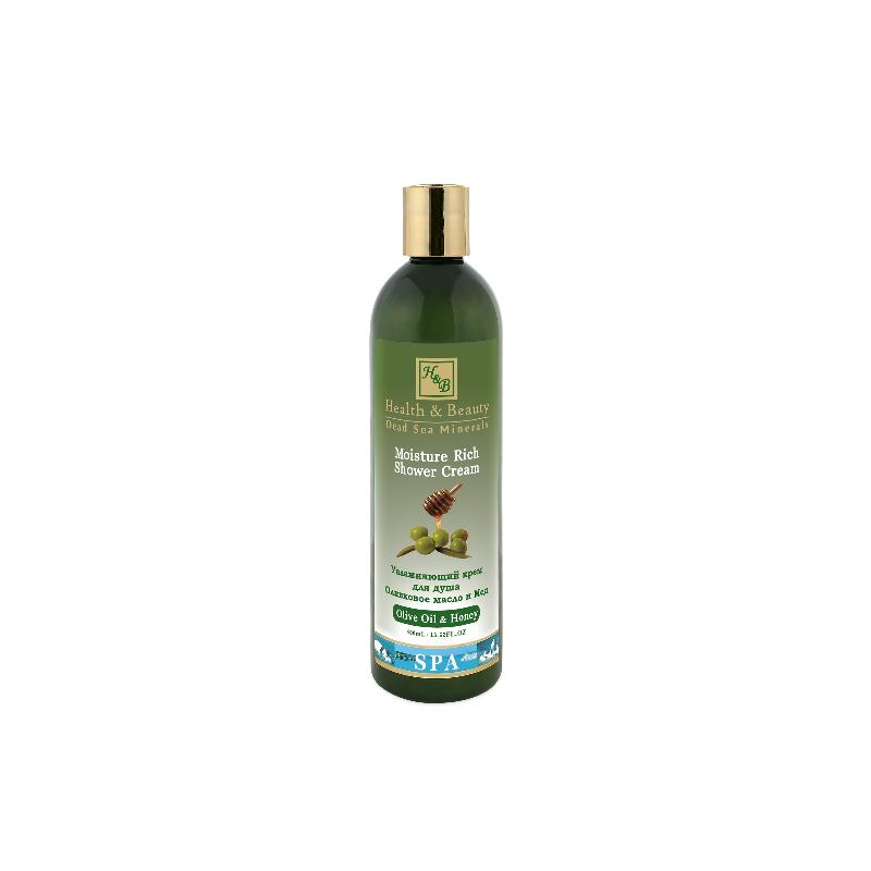 Crème douche à l'huile d'olive et miel - 400 ml