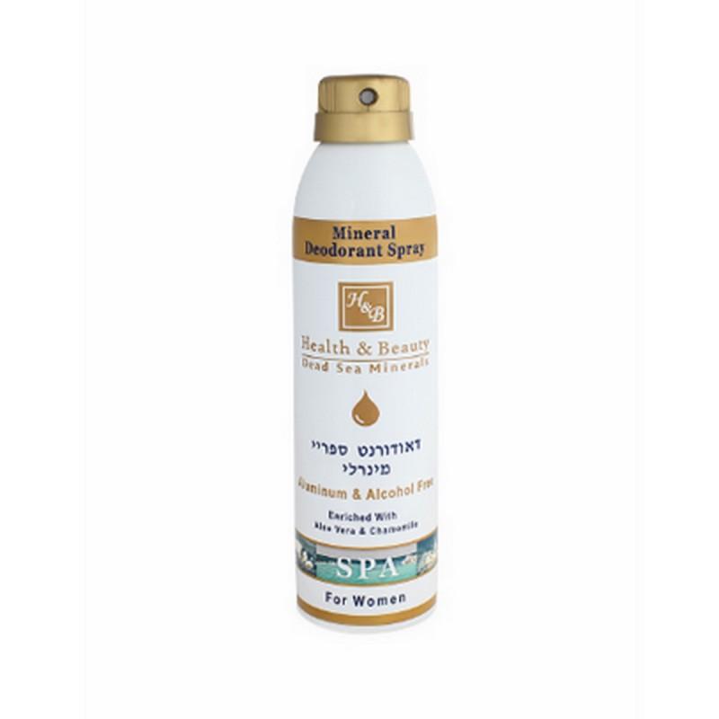 Déodorant spray pour femme