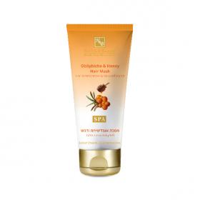 Masque traitant pour cheveux à l'huile d'argousier et au miel - 200 ml