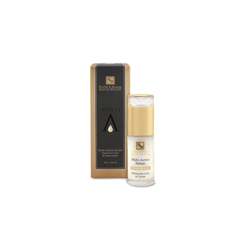Sérum Multi-Actif contour des yeux à l'Acide Hyaluronique - 40 ml