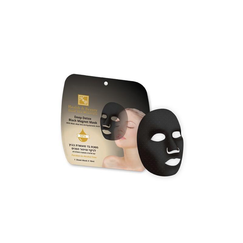 Masque Magnétique Noir pour Visage